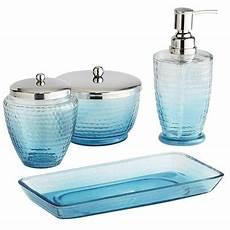 Badezimmer Accessoires Blau - blue ombre bath accessories decor by color