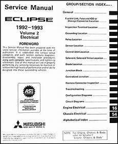 online service manuals 1992 mitsubishi eclipse auto manual 1992 1993 mitsubishi eclipse repair shop manual set original