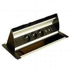 steckdosen modern versenkbare steckdose mit drei schukosteckern und zwei usb