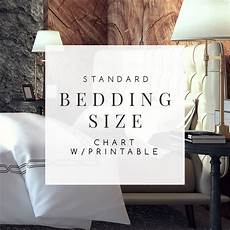 bedding size chart what size mattress sheets you really