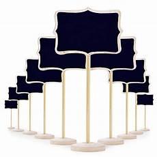 Klein Holz Kreidetafel Mit St 228 Nder Als Tischkarten