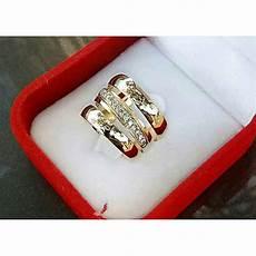 buy white label 3 piece wedding ring gold online