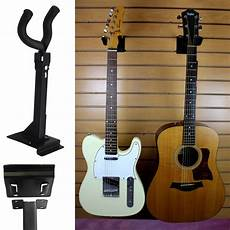 wall mount guitar holder adjustable acoustic electric guitar wall mount display hanger holder hook stand ebay