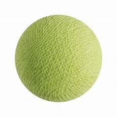 boule pour guirlande lumineuse boule pour guirlande lumineuse premium led vert amande la de cousin paul