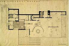 mies van der rohe house plans tgphipps lower floor plan villa tugendhat ludwig mies