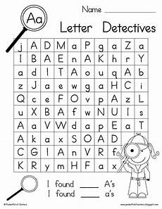 letter worksheets printable 22984 letter detectives printable a z letter searches alphabet and literacy activities for