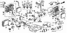 2007 honda pilot engine diagram 06570 slk 000 genuine honda kit y g sensor