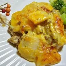 Hackfleisch Kartoffel Auflauf - scalloped potato ground beef casserole recipe 4 4 5
