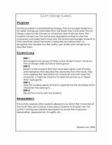 lesson plans for house on mango street the house on mango street list group label lesson plan