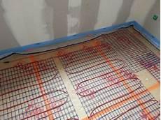 le plancher chauffant 233 lectrique