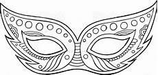 Malvorlage Karneval Maske Karneval Maske Gliederung Isoliertes Element Malvorlagen