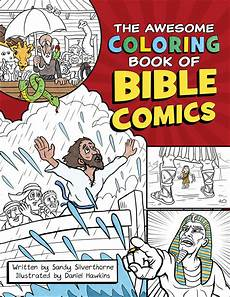 the awesome coloring book of bible comics the awesome coloring book of bible comics silverthorne sandy paperback christian supply