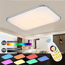 modern led ceiling lights living room 2 4g remote