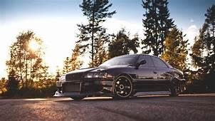 Cars Tuning Black Jdm Toyota Chaser Wallpaper  108800