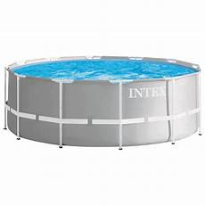 intex 366x122 komplettset swimming pool schwimmbad frame