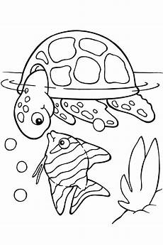 sea fish coloring pages and print for free