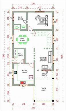 free house plans kerala style 6 cent 3 bedroom nri home design with free home plan
