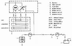 Wiring Diagram For Windshield Wiper Motor Impremedia Net