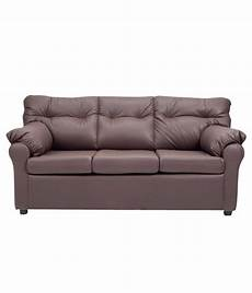 elzada 5 seater sofa set 3 1 1 in brown buy elzada 5