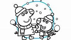 Peppa Wutz Ausmalbilder Weihnachten Ausmalbilder Peppa Wutz Ihre Familie Und Freunde