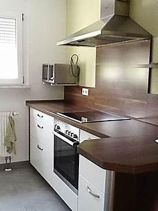 Küche Nussbaum Weiß - alno musterk 252 che gepflegte k 252 che quot alno quot front