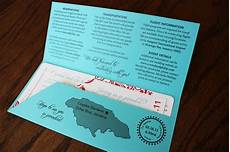 Airline Ticket Wedding Invitation