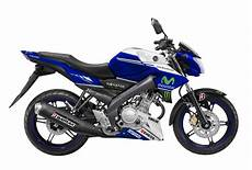 Modifikasi Vixion Movistar by Modif Striping Yamaha New Vixion Livery Movistar Yamaha