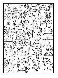 Katzen Malvorlagen Zum Drucken Ausmalbilder Katzen Kostenlose Malvorlagen Zum