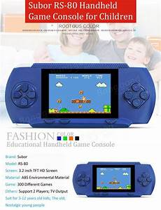 Inch Screen Science Education Children by Subor Rs 80 3 2 Inch Screen Wireless Handheld Console