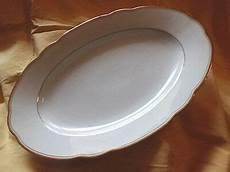bavaria kronester porzellan platte servierplatte oval