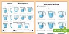 year 3 measure volume differentiated activity sheets ks2