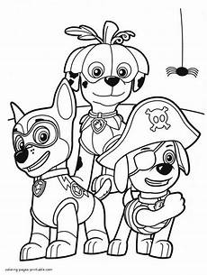 paw patrol coloring pages printable 25 print color craft