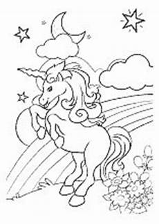 coloring unicorn in the meadow dibujos dibujos de