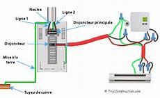 branchement thermostat chauffage electrique le thermostat 233 lectrique