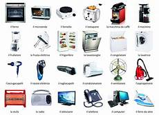 Kitchen Electronics List by Home Appliances Italian Words List With Audio And