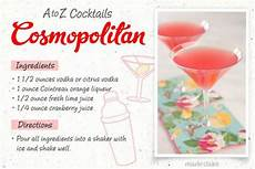 Cosmopolitan Cocktail Rezept - easy to make cocktail recipes 26 easy cocktail drinks