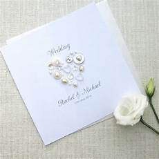 Wedding Invitations With Pearls pearl personalised wedding invitations by sweet