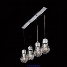 Suspension Luce Max 4 Verre Souffl Luminaire Design Ideal