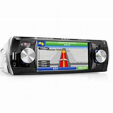1 din navi autoradio mit navigation navi bluetooth touchscreen dvd cd