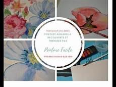 peinture pour peinture facile premiers pas 224 l aquarelle tutoriel