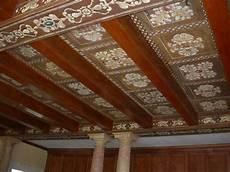 soffitto travi studio d arte michela coltro pittrice e decoratrice verona