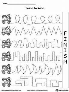 motor skills worksheets tes 20643 trace to race track pomoce kindergarten worksheets preschool worksheets i preschool