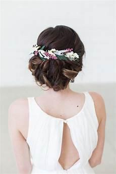 Blumen Im Haar Hochzeit - blumen haar kamm floral halo braut haar kranz