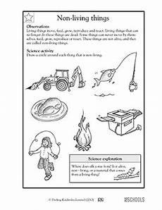 science worksheet living things 12282 1st grade 2nd grade kindergarten science worksheets non living things greatschools