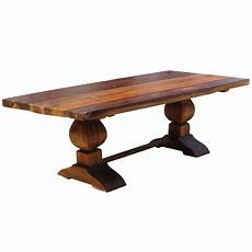 Rustic Trestle Dining Room Tables