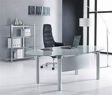 glass home office furniture glass office desks executive glass desks solutions 4