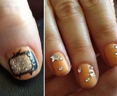 best celebrity nail art looks popsugar beauty