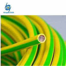 1x6 square mm solar earth cable yellow green grounding wire view 1x6 square mm solar earth