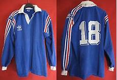 maillot equipe de rugby vintage adidas cotton worn