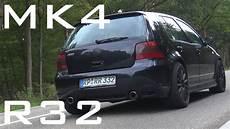 Vw Golf 4 R32 Sound Acceleration Onboard Autobahn 0 200
